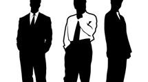 3 hombres de negocios