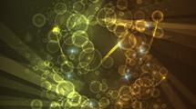 Abstracto con círculos