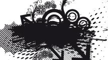 Composición abstracta grunge