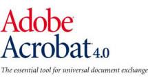 Logo Adobe Acrobat 4