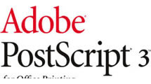Logo Adobe PostScript 3