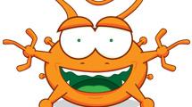 Alien naranja