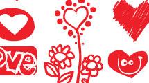Amor pintado a mano