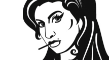 Amy Winehouse en blanco y negro