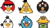 Angry Birds: Set de seis personajes