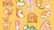 Animales en caricatura