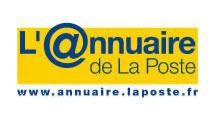 Logo Annuaire de La Poste