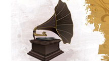 Antiguo gramófono