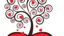 Arbol de San Valentin