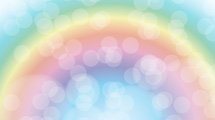 Arco iris abstracto en color pastel
