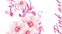 Arreglo floral rosado