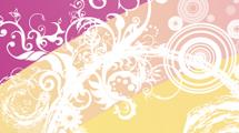 Background retro floral