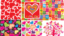 Backgrounds con corazones