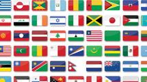 Banderas estilo glossy