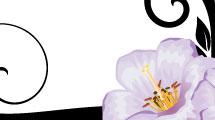 Banner con flores