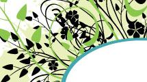 Banner con vegetación