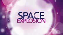 Banner explosivo violeta