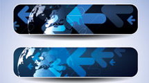 Banners azules