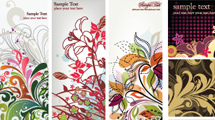 Banners con flores