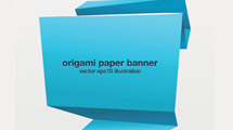 Banners origami