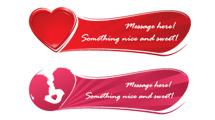 Banners románticos