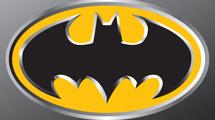 Batman con borde plata