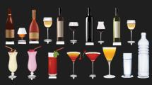 Bebidas y botellas