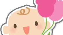 Bebés con flores