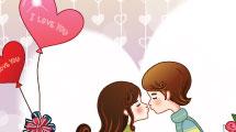 Beso en la plaza