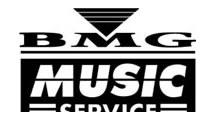 Logo BMG music service