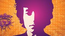 Bob Dylan en violeta