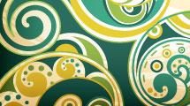 Borde con patrón abstracto