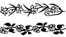 Bordes Floral