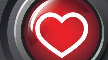 Botón Valentine