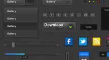 Botones de ajuste para web
