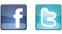 Botones de Facebook y Twitter