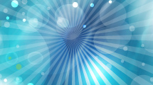 Burbujas y líneas celestes