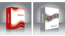Cajas de software en 3D