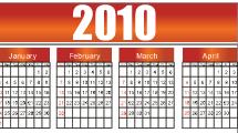 Calendario 2010 - 1