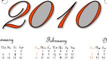 Calendario 2010 - 2