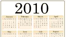 Calendario 2010 - 4