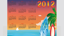 Calendario 2012: Hawai