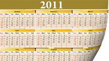 Calendarios 2011
