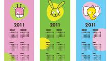 Calendarios señaladores