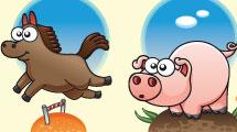 Caricaturas de animales variados