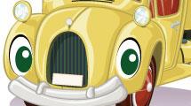 Caricaturas de autos y camiones