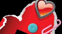 Cartel: día de los enamorados