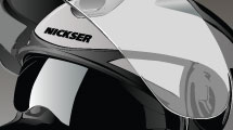 Casco de mototociclista