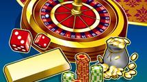 Casino con detalles dorados