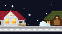 Casitas navideñas